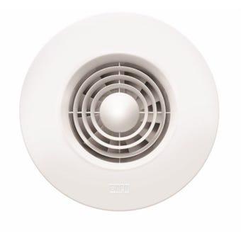 HPM  Wall Fan Round White 100mm