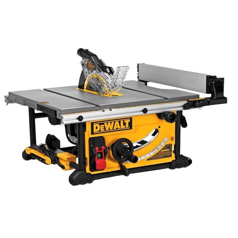 DeWALT 2000W 254mm Portable Table Saw