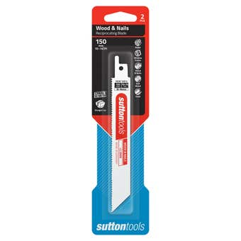 Sutton Tools Reciprocating Blade Wood & Nails