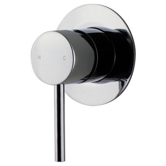 Brasshards Mixx Trinsik Shower Mixer Chrome