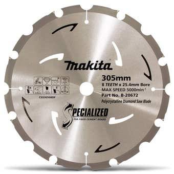 Makita PCD Fibre Cement Circular Saw Blade 305mm