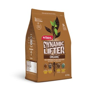Yates Dynamic Lifter Organic Soil Improver & Plant Fertiliser 2.5kg