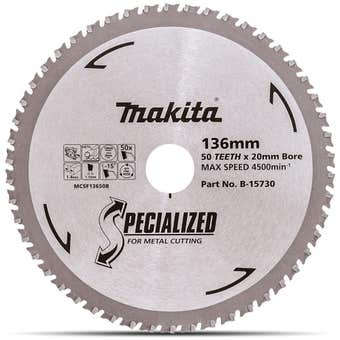 Makita Cold Cut Circular Saw Blade 50T 136mm