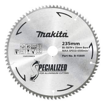 Makita Circular Saw Blade for Aluminium 80T 235mm