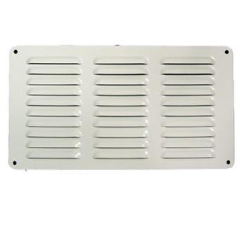 Haron Aluminium Pressed Vent White 300 x 150mm