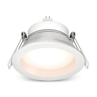 HPM LED  Downlight Cut Out Cool White Finish MR16 9W 90mm