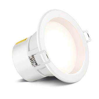 HPM DLI LED Downlight Non Dimmable Cool White 7W 90mm