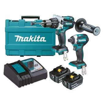 Makita 18V 6.0Ah Brushless Combo Kit - 2 Piece DLX2176G