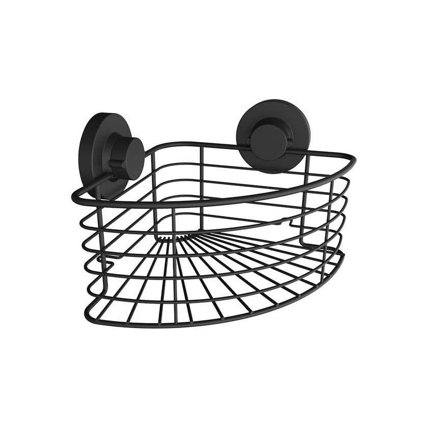Naleon Instaloc Corner Basket Black