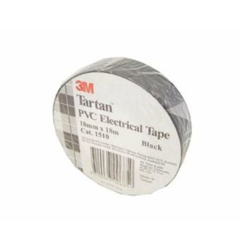 3M Electrical Tape Black 18mm x 18m