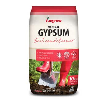 Amgrow Natural Gypsum Soil Conditioner 10kg