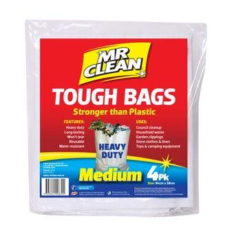 Mr Clean Tough Bag Medium - 4 Pack