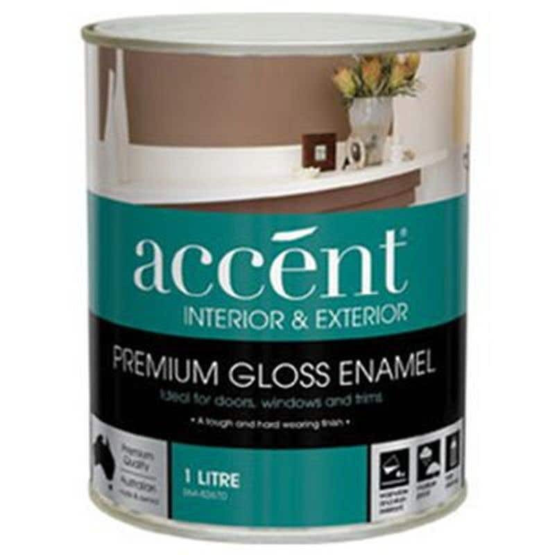 Accent Doors, Windows & Trims Oil Based Gloss White 1L