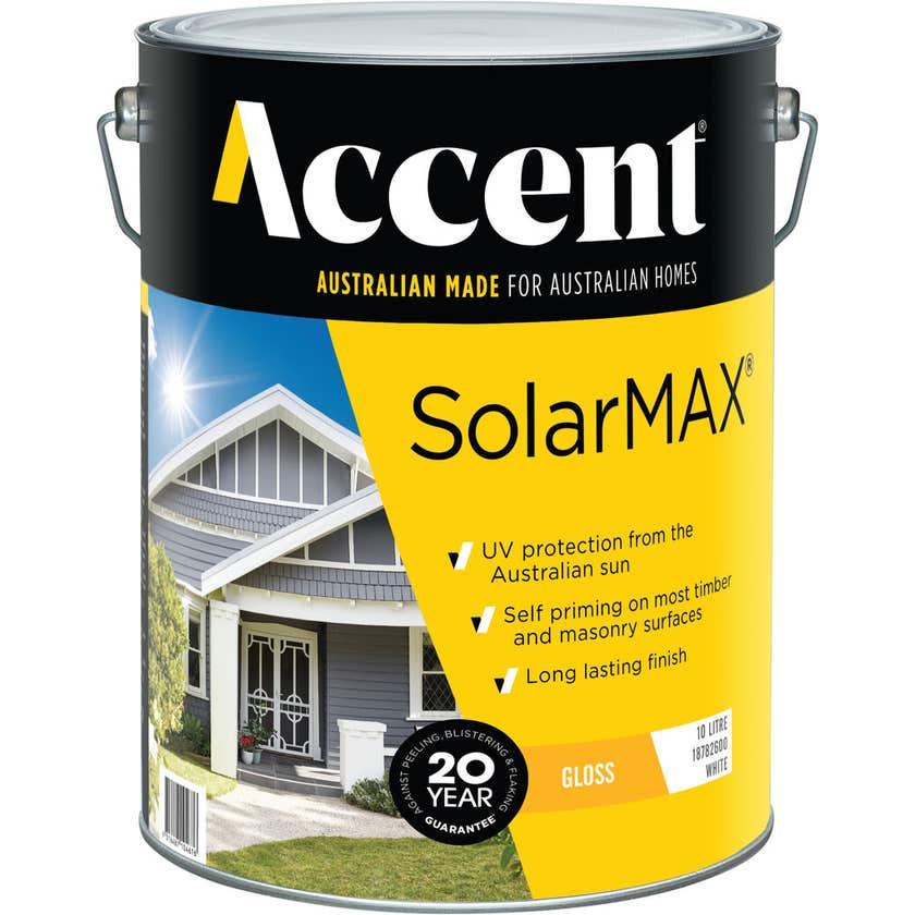 Accent SolarMAX Exterior Gloss White 10L