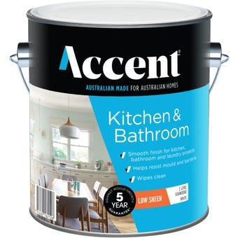 Accent® Kitchen & Bathroom Low Sheen White 2L