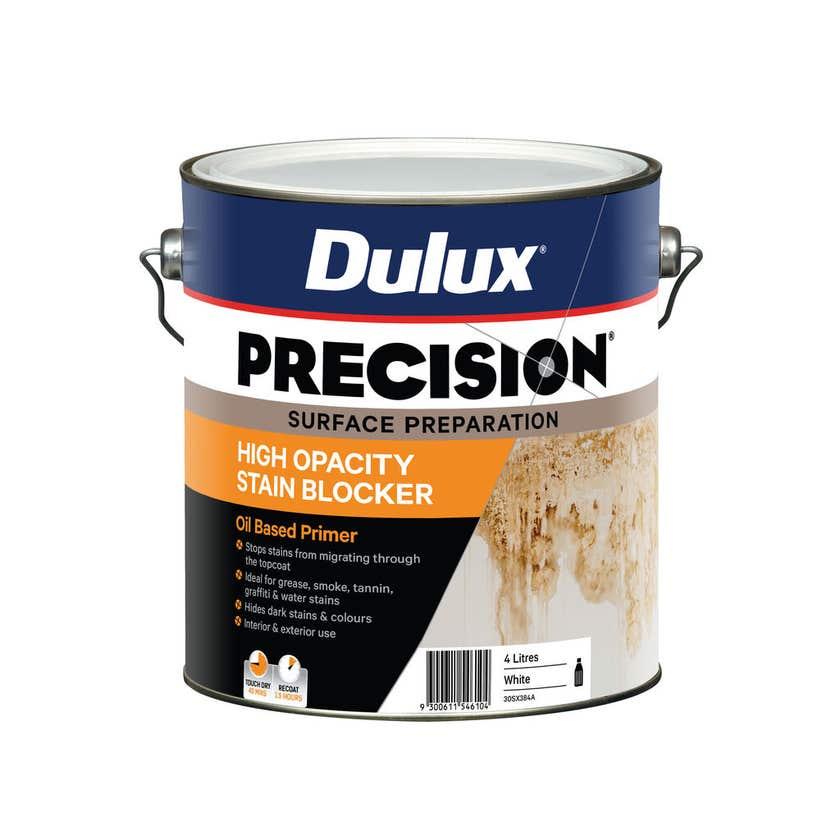 Dulux Precision High Opacity Stain Blocker 4L