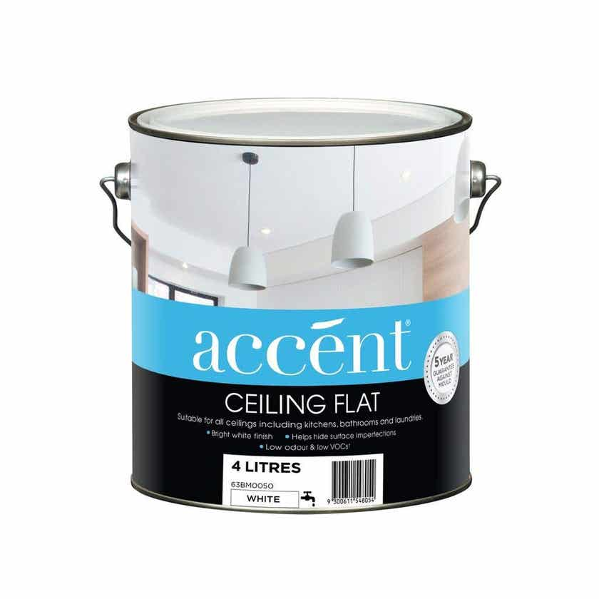 Accent Ceiling Flat White