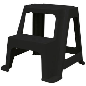 Buy Right® 2 Step Plastic Stool 100kg Domestic