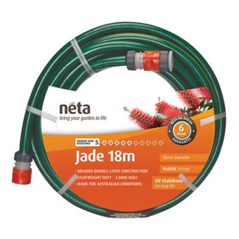 Neta Jade Fitted Hose 18mm x 18m