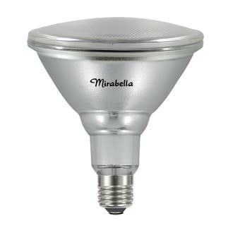 Mirabella LED PAR 38 Flood Light 15W ES Warm White - 2 Pack