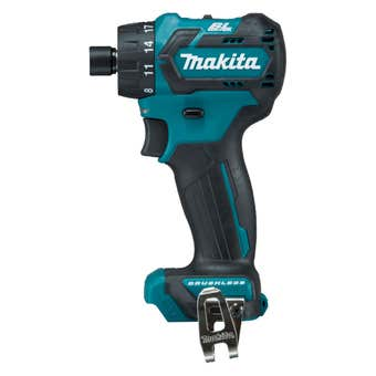"Makita 12V Max Brushless 1/4"" Hex Chuck Driver Drill Skin"