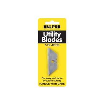 Uni-Pro Retractable Scraper Blades - 5 Pack