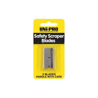 Uni-Pro Safety Scraper Blades - 5 Pack