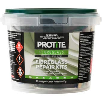 Protite Fibreglass Repair Kit Medium