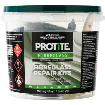 Protite Fibreglass Repair Kit 1kg