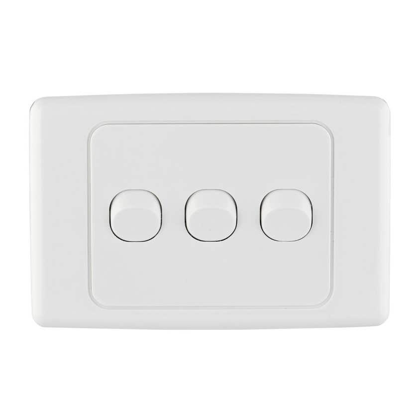 Tradeline Triple Light Switch