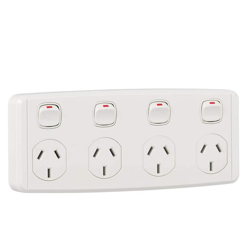 Tradeline Four Outlet Power Point