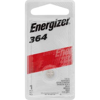 Energizer Watch Battery 364 1.5V - 1 Pack