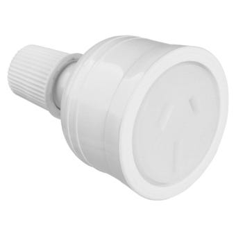HPM 15A Cord Extension Socket White
