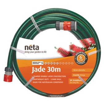 Neta Jade Fitted Hose 30m x 18mm