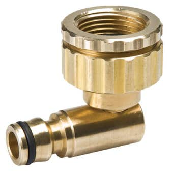 Neta Universal Swivel Brass Tap Adaptor