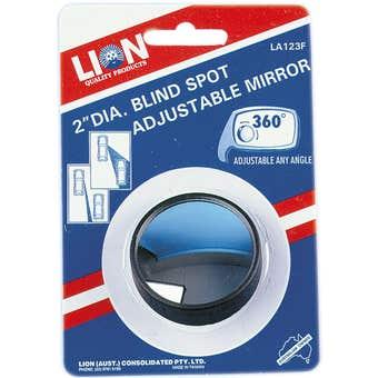 Lion Self Adhsive Blind Spot Adjustable Mirror