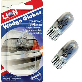 Lion Wedge Globes 21W 12V