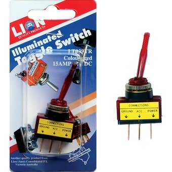 Lion Toggle Switch Red