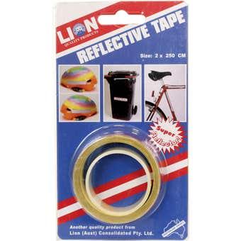 Lion Reflective Safety Tape 20mm x 2.5m