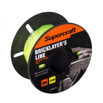 Supercraft Brickline Yellow 50m