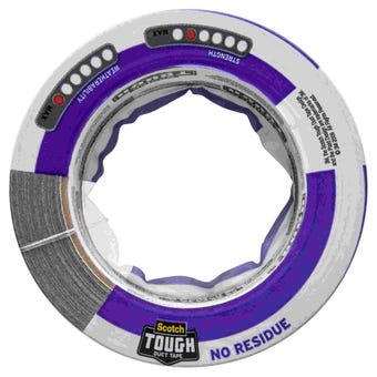 3M No Residue Duct Tape 48mm x 18.2m