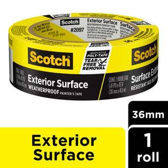Scotch Exterior Surface Painter's Tape 36mm x 41m
