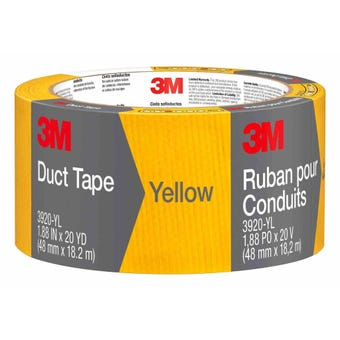 3M Duct Tape Yellow 48mm x 18.2m