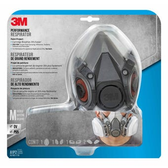 3M Paint Project Half Face Respirators