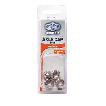 Cold Steel Axle Caps 8mm - 4 Pack