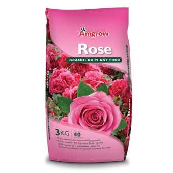 Amgrow Rose Granular Plant Food 3kg