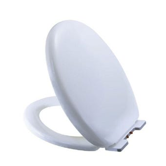 Lindoni Deluxe Silent Close Toilet Seat White