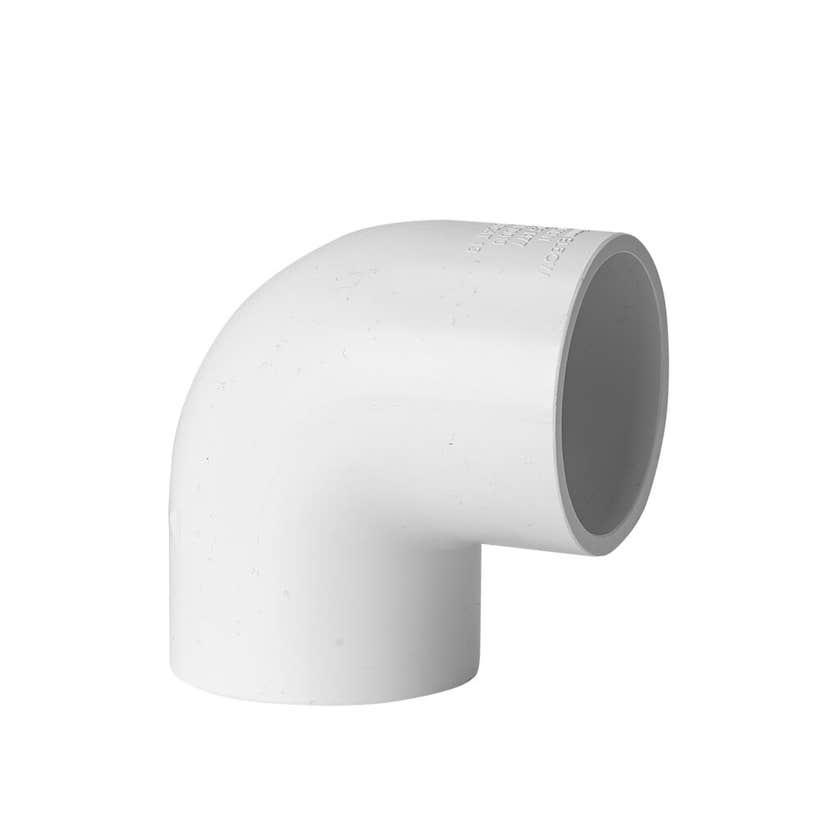 Holman PVC Pressure Elbow 40mm 90 Deg