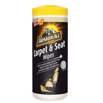 Armor All Carpet & Seat Wipes 30 Pack