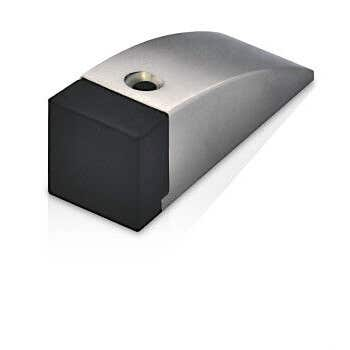 Trio Desar Cushioned Doorstop Chrome Plated 76mm